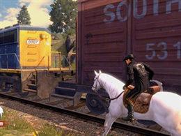 明日之后驯马新玩法 失落小镇的马群