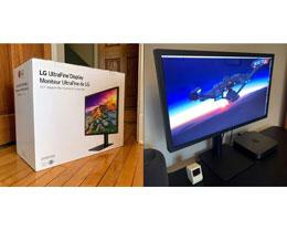 Apple Store 悄然上架最新 LG 23. 7英寸超窄边框显示器