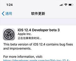 iOS 12.4 Beta 3更新了什么内容?如何更新至iOS 12.4 Beta 3