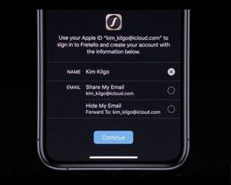 苹果高管谈及 iPadOS 与 Sign In with Apple,表示非常满意