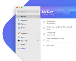 微软旗下 Microsoft To-Do 今天正式登陆 Mac App Store