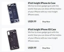 "iFixit 推出 iPhone ""透视""手机壳:可以""看到""机身内部元件"