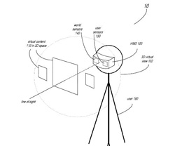 苹果混合现实头显专利曝光:能够追踪用户眉毛和下颌