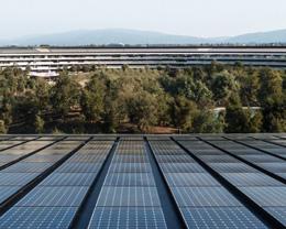 苹果已成为美国最大的太阳能企业用户