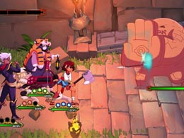 动作RPG新作《Indivisible》宣布10月8日上市