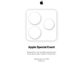 苹果秋季新品发布会邀请函疑似曝光,暗示三摄