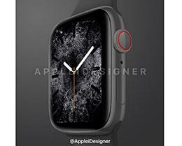 外媒曝光第五代 Apple Watch 渲染图:陶瓷版回归
