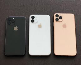 iPhone 11 系列真模型谍照曝光