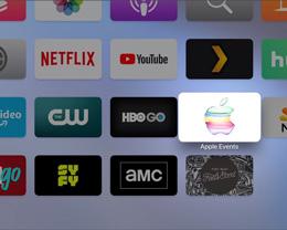 苹果更新 Apple TV「特别活动」应用,提前为发布会做准备