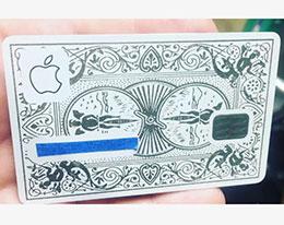 网友自制 CNC 一体冲压金属版 Apple Card
