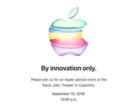 苹果将为 9 月 10 日 秋季新品发布会提供官方 YouTube 直播