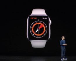 Apple Watch Series 5 正式发布!内置罗盘,新增钛合金外壳