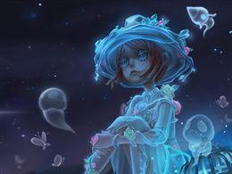 冷夜高墙下的女孩 《第五人格》园丁稀世时装幽灵公主上架商城