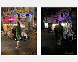 国际超模带来 iPhone 11 夜间模式首测照片
