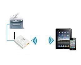 iPhone 如何通过无线网连接打印机?