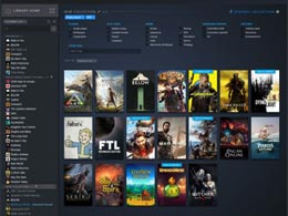 Steam新版游戏库界面 9月17日正式公测
