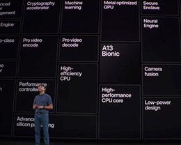苹果高管:A13 处理器芯片设计更注重能效比