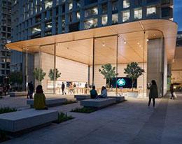 苹果墨西哥城旗舰店本周五开张:采用大型滑动玻璃门