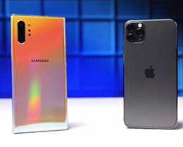 外媒:iPhone 11 Pro Max 與 Galaxy Note 10+ 拍照對比