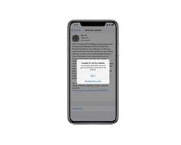 "iPhone 11 提示""超宽频更新失败""该如何解决?"