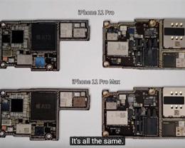 事实证明将 iPhone 11 Pro 改装成 iPhone 11 Pro Max 非常容易