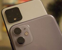 夜间拍摄谁更胜一筹? iPhone 11 赶超 Pixel 4