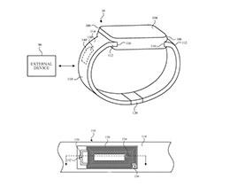 苹果新专利:Apple Watch 表带将集成无线天线
