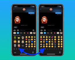 iOS 13.3 小技巧:如何关闭表情符号键盘中的「拟我表情」?