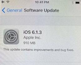 iOS 6.1.3验证通道关闭,iPhone 4S等旧机型怎么办?