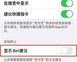 "iOS13中,下拉搜索""siri建议""下面的广告如何关闭?"