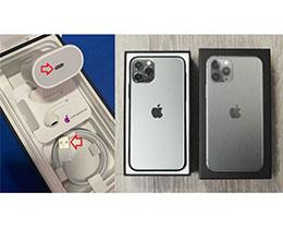 用户购买 iPhone 11 Pro Max,包装盒内却是 iPhone 11 的数据线