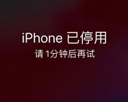 iPhone被停用怎么办?iPhone已停用怎么解决?