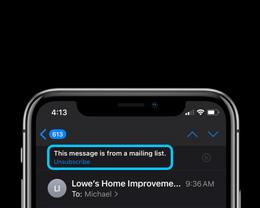 如何整理 iPhone 上的信息和邮件?