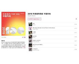 Apple Music 发布中国内地年度最热歌单,周杰伦《晴天》夺冠