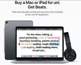 苹果在澳大利亚、新西兰等国家开启「返校促销」