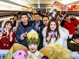 连接北上广深,《梦幻西游三维版》春节主题专列把梦送回家!