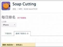 登顶23国iOS免费榜:一款切肥皂游戏为何引起玩家的集体舒适?