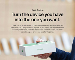 Apple 降低 iPhone、iPad、Mac「以舊換新」折抵回收價格