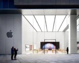 研究機構表示,蘋果公司在華關閉門店影響甚微