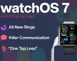 watchOS 7 概念渲染設計:睡眠追蹤、自定義運動圓環