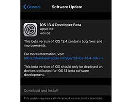 iOS 13.4 beta 1 更新了什么?值得升级吗?