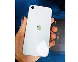 iPhone 9 真机谍照曝光:背面苹果 Logo 居中