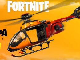 《堡垒之夜》加入新载具直升机 玩家机动性提升