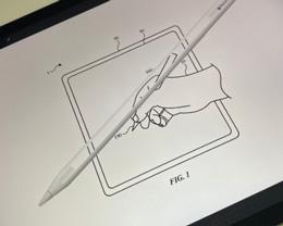 苹果新专利显示 Apple Pencil 可能会采用玻璃材质
