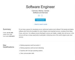 苹果拥抱 Rust,招聘广告显示其正在移植 C 代码