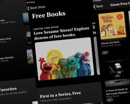苹果提醒用户「Books」应用中提供免费书籍和有声读物