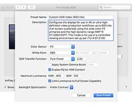 苹果为 Pro Display XDR 显示器发布固件更新:支持自定参考模式