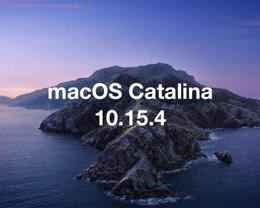 macOS 10.15.4 补充更新发布,修复多个 Bug