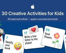苹果为受 COVID-19 封锁影响的孩子们打造基于 iPad 的居家学习计划