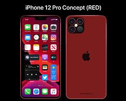 苹果 iPhone 12 Pro 红色版概念设计亮相